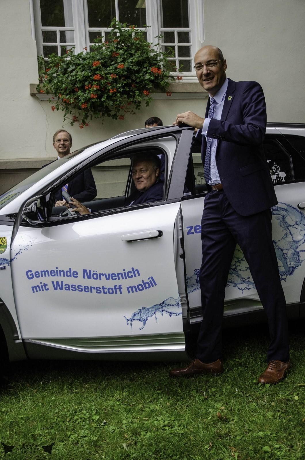 Die Gemeinde Nörvenich ist mit Wasserstoff mobil