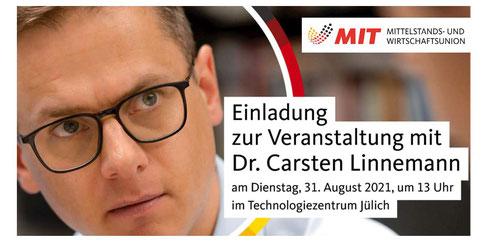 Veranstaltung mit Dr. Carsten Linnemann