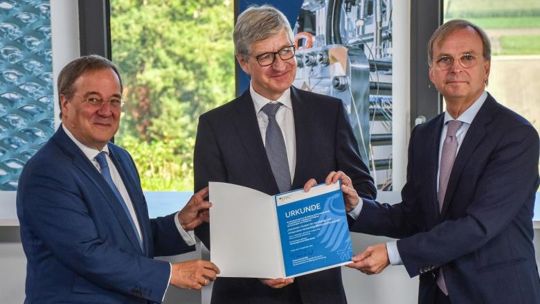 Thomas Rachel gibt den Startschuss: 860 Millionen Euro Förderung für die Wasserstoff-Modellregion