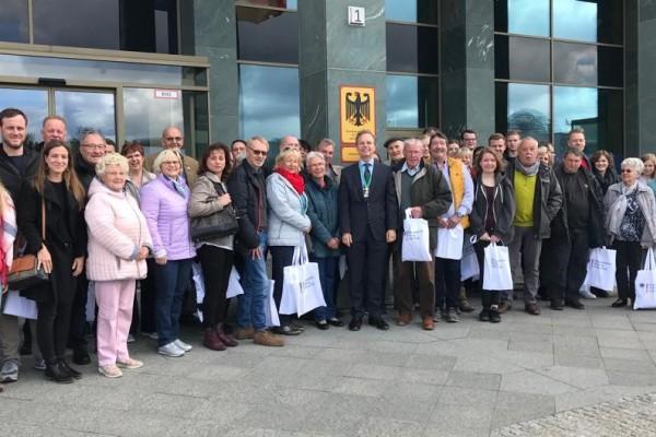 Besuch beim CDU-Abgeordneten in Berlin